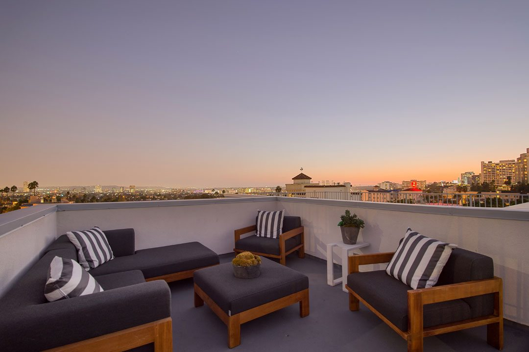 Unobstructed and protected views from Havenhurst's private roof-top decks. Credit: Scott Evertz
