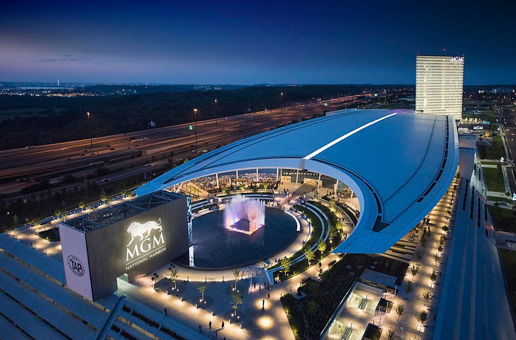 PPG DURANAR coatings highlight MGM National Harbor Hotel and Casino