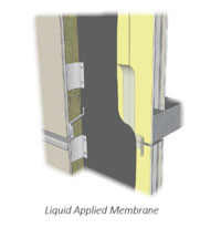 Liquid-applied membrane