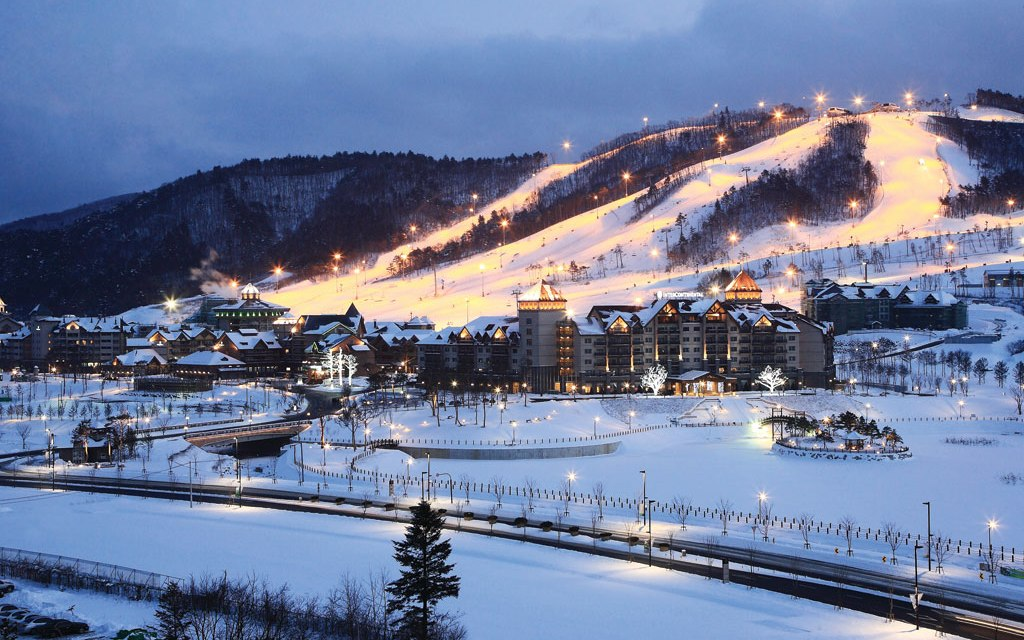 Cuningham Group Architecture-Designed Alpensia Resort is Winter Olympic Village