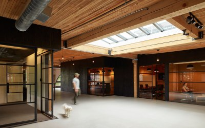 Substantial's new open work space