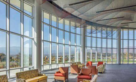"Solarban 90 glass by Vitro Glass used in ""transformational"" arts facility"