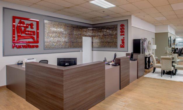 KAI Design & Build Completes Conversion of Four Former St. Louis Metro Area Rothman Furniture Stores into Art Van Furniture
