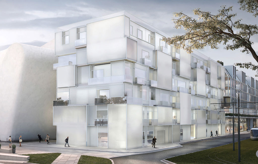 Courtesy of Steven Holl Architects, Compagnie de Phalsbourg and XO3D