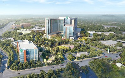 Top Atlanta Landscape Architecture Firm Teams Up to Create Master Plan for New Children's Healthcare of Atlanta Hospital