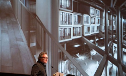 Architect Emre Arolat Discussed Major Projects During Lecture at Rensselaer Polytechnic Institute