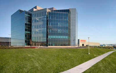 New Holtec International headquarters features glass fabricated by J.E. Berkowitz