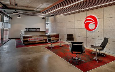 KAI Design & Build Finds Inspiration for Alberici Office Renovation Through Client's Steel Fabrication Expertise