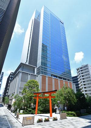 Takeda Global Headquarters in Nihonbashi, Tokyo, Japan.