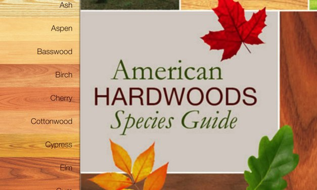 New Mobile App Features Most Popular Hardwood Species