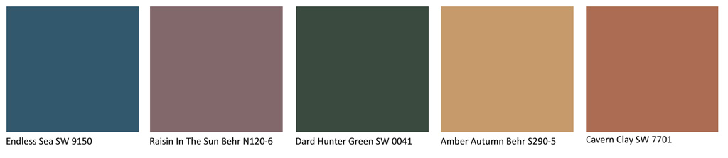 2019 Color Trends: Connect, Disconnect & Reconnect