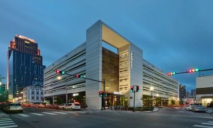 Eskew+Dumez+Ripple-desgined The Park, a hybrid structure merging parking with retail
