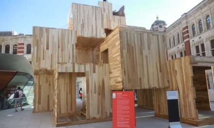 Northwest Hardwoods Provided American Tulipwood for Unique Installation at Last Week's 2018 London Design Festival