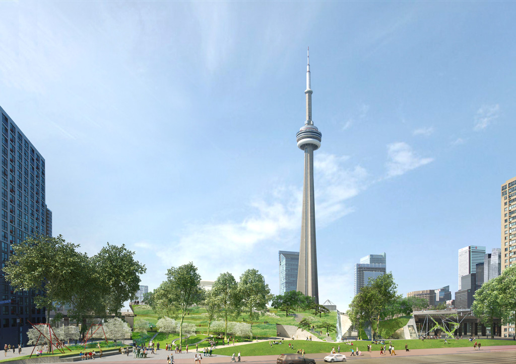 An artist rendering of Rees Ridge, by wHY Architecture (New York) + Brook McIlroy (Toronto)
