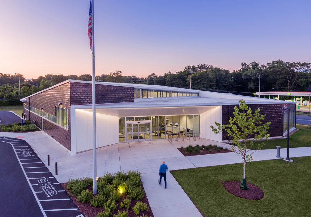 Shepard Branch Library/Moody Nolan, Inc. Credit: Cory Klein Photography