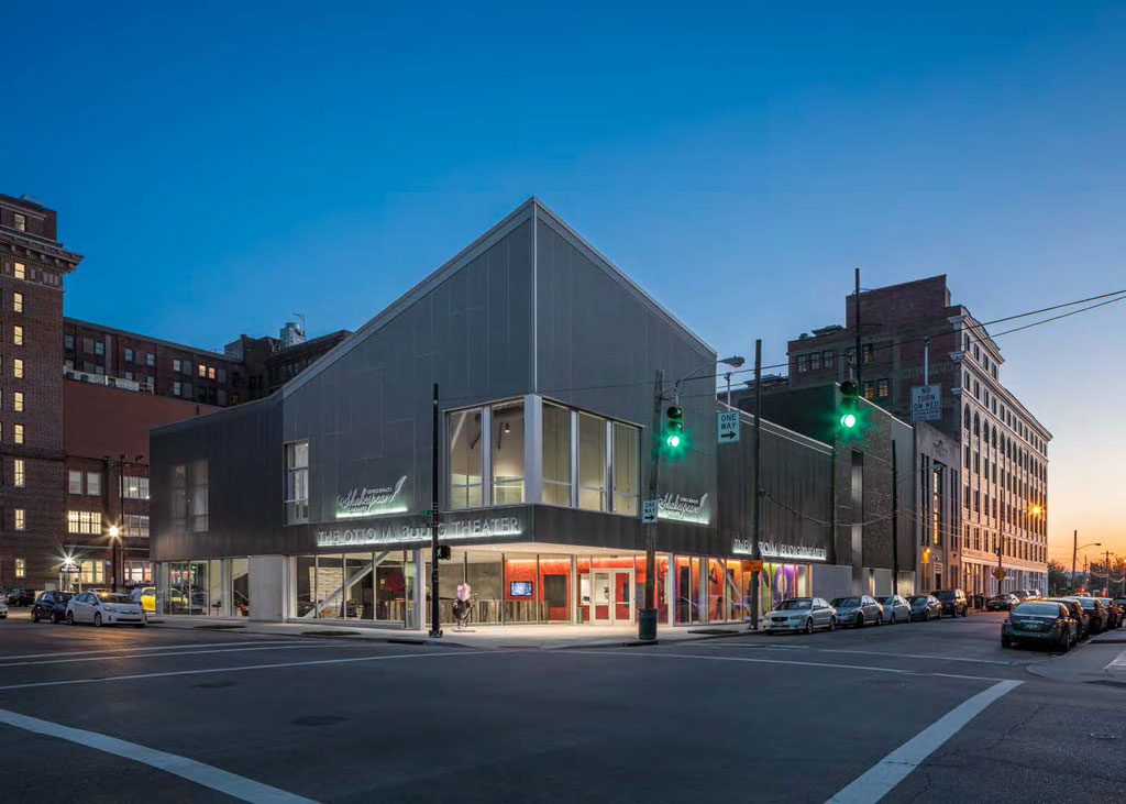 The Otto M. Budig Theater/GBBN Architects. Credit: Brad Feinknopf Feinknopf Photography