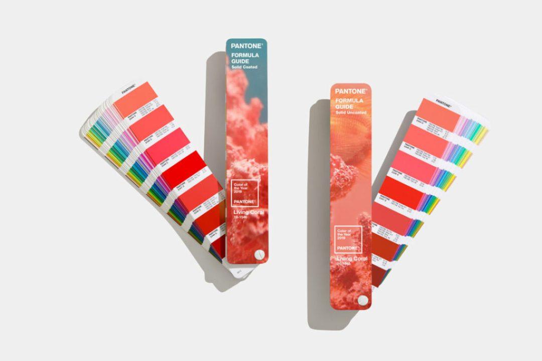 Limited Edition Pantone Living Coral Formula Guides