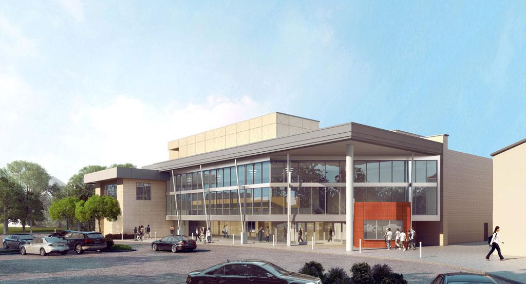SVA Architects' design for Woodbridge High School Performing Arts Center soon to take shape
