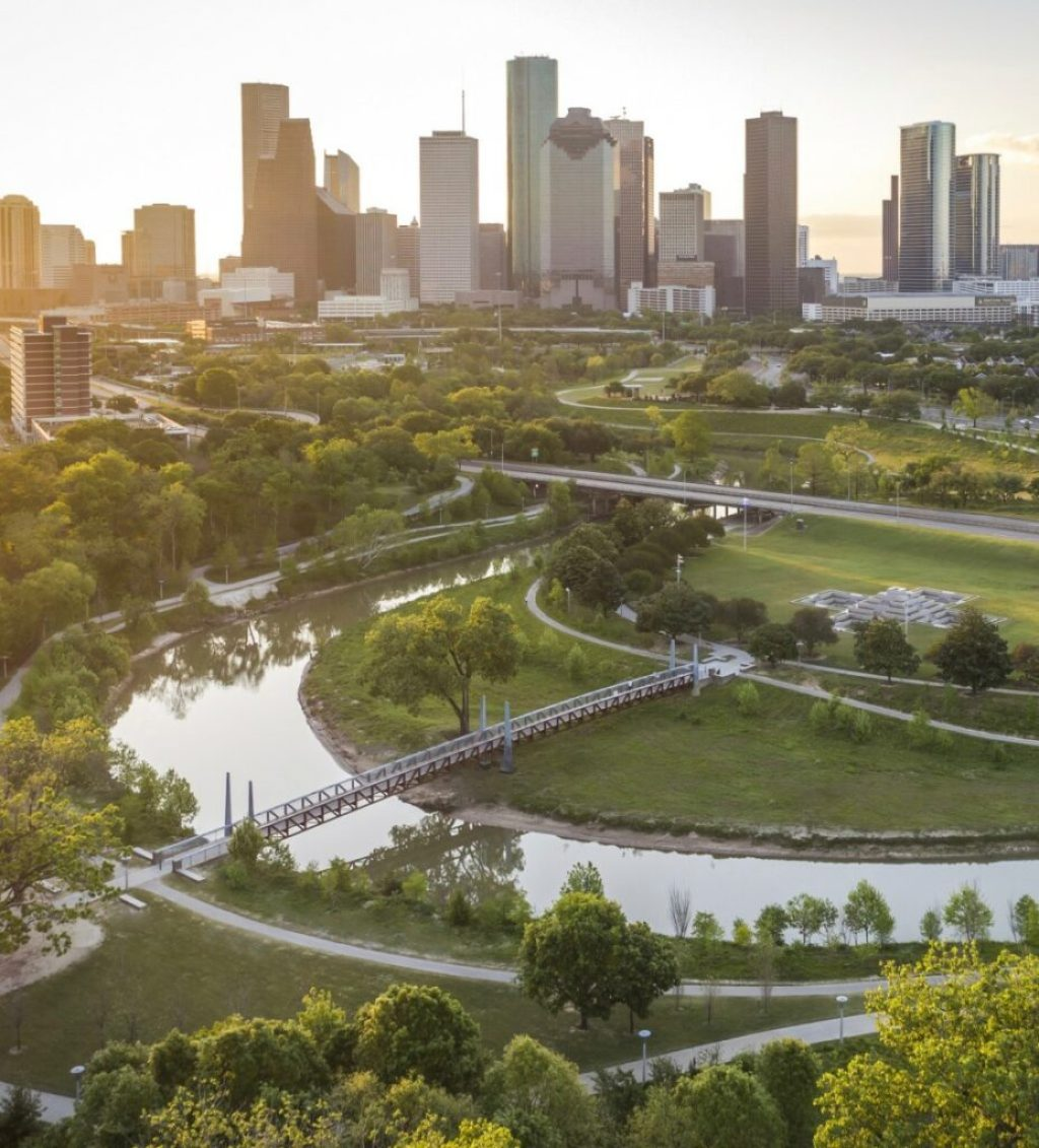 Buffalo Bayou Park—Houston, TX. Credit: Jonnu Singleton