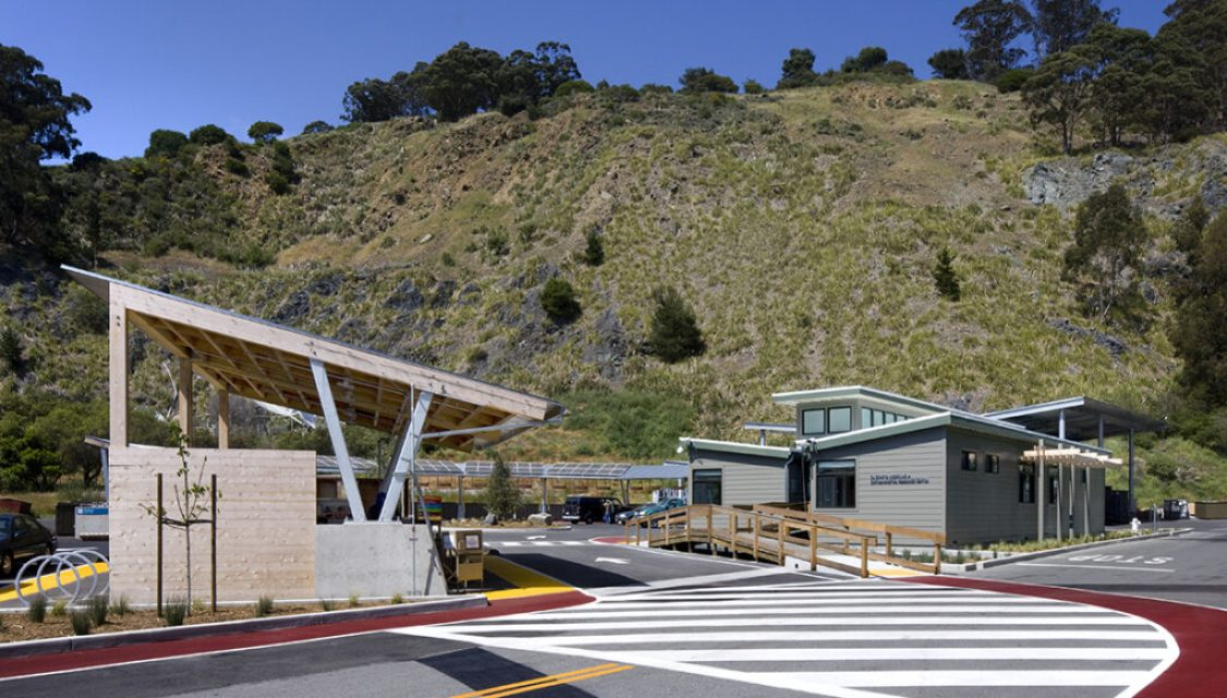 El Cerrito Recycling Center + Environmental Resource Center, sustainable in design and in practice