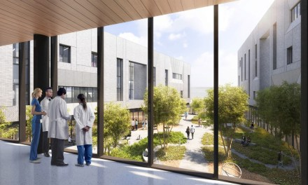 Perkins+Will's design for University of Texas Health Continuum of Care Campus for Behavioral Health promotes health and wellbeing