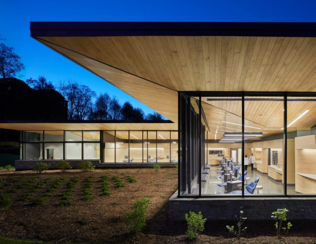 Blue Ridge Orthodontics/Clark Nexsen. Photo credit: Mark Herboth