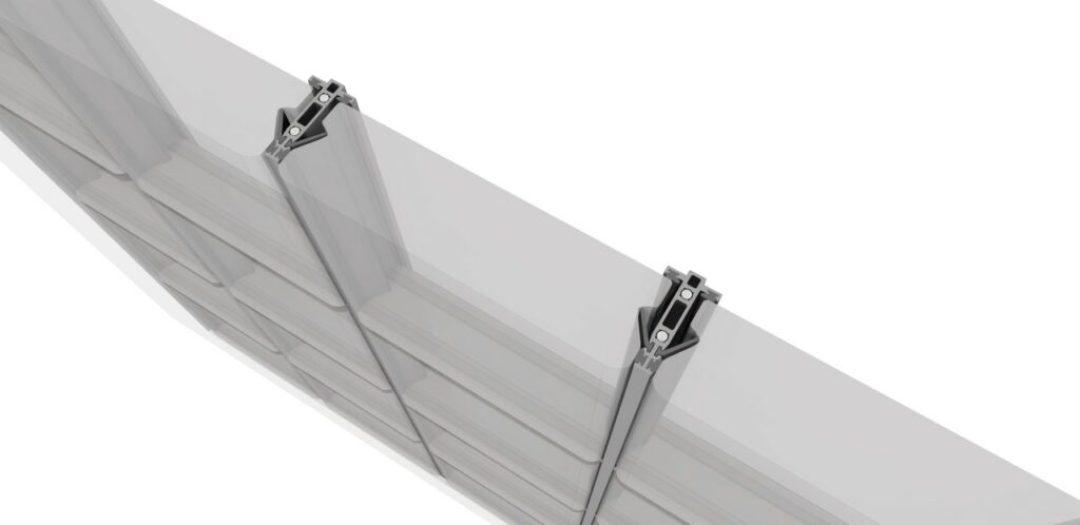 EXTECH/Exterior Technologies, Inc. (EXTECH) GRIDLOCK® glass brick wall system