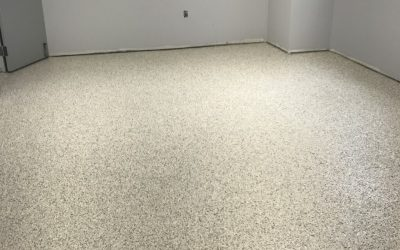 Unique hybrid flooring system for a state-of-the-art chemical processing facility