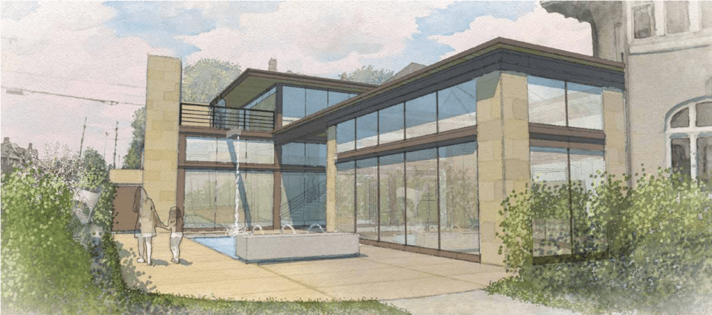 Lisa M. Cini transforms Columbus Woodland Manor Mansion into sustainable futuristic technology lab for multi-generational living