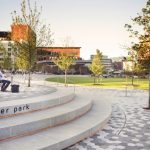 Reimagining of Miller Park in downtown Chattanooga, Tennessee