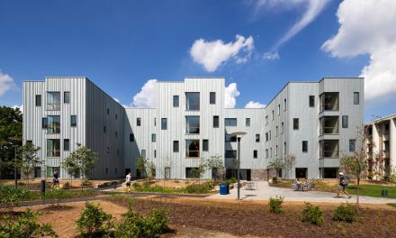 Dickinson College's new residence hall showcases zinc exterior with RHEINZINK façade cladding