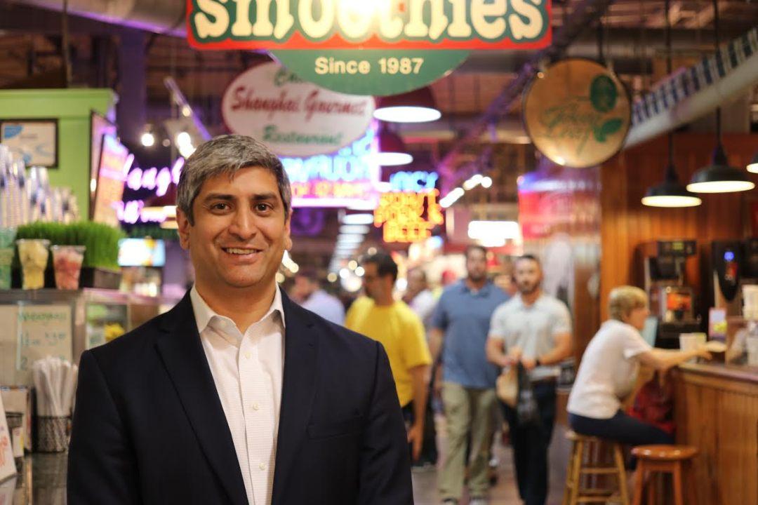 Anuj Gupta. Photo courtesy of Reading Terminal Market