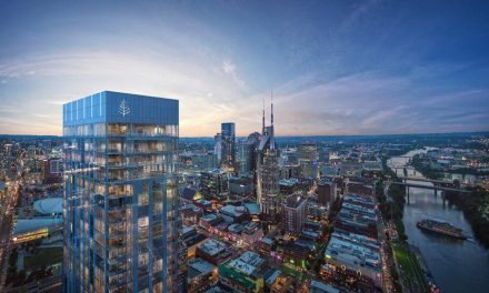 Acoustic guitar inspires SCB design of Four Seasons Hotel and Private Residences Tower in Nashville