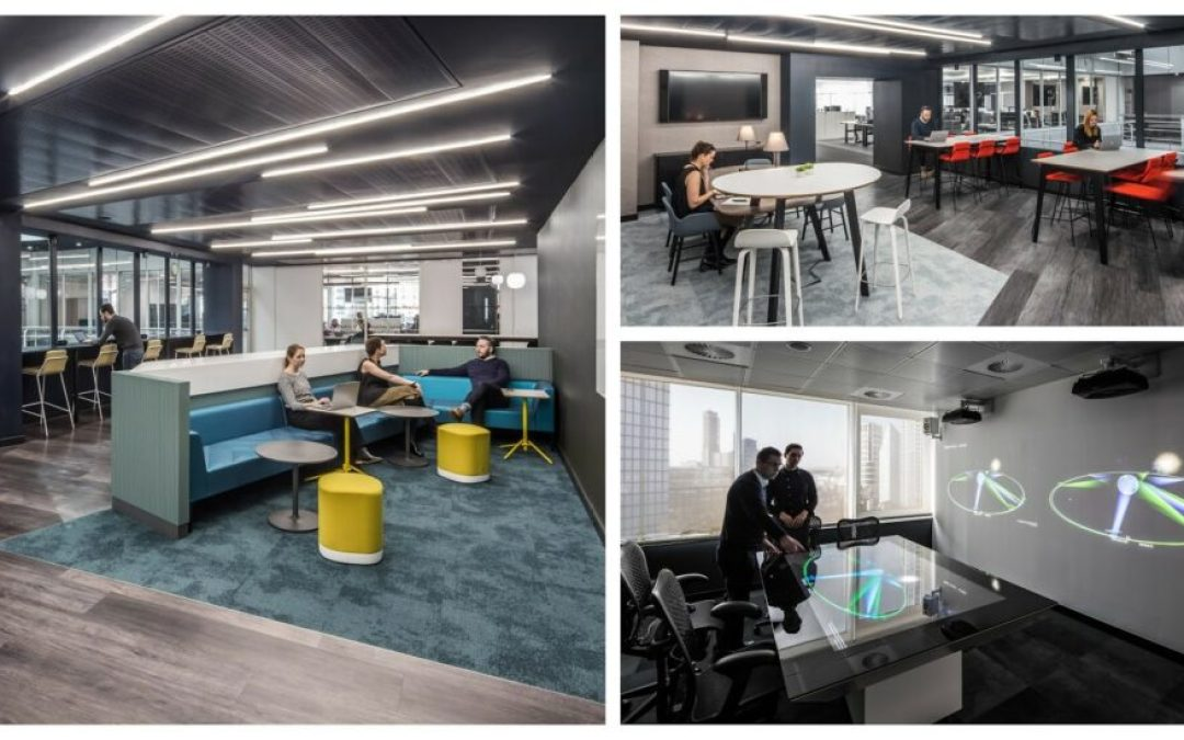 HLW designs Inmarsat's new London headquarters 'Project Odyssey'