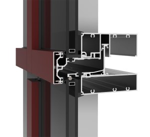 The YUW 750 TU is a thermally broken, unitized curtain wall that delivers a high level of design versatility and performance, regardless of climate or location. In addition to the fast, easy installation benefits of being unitized, it offers design freedom with options for a 2 1/2 inch captured frame or a 4-sided structural silicone glazed frame with zero sightline for a modern look. Sustainable performance is achieved with a U-value of 0.41 Btu/hr ft2 oF or less. Additionally, the YUW 750 TU easily interfaces with sun shades to yield greater performance. Visit ykkap.com to learn more.