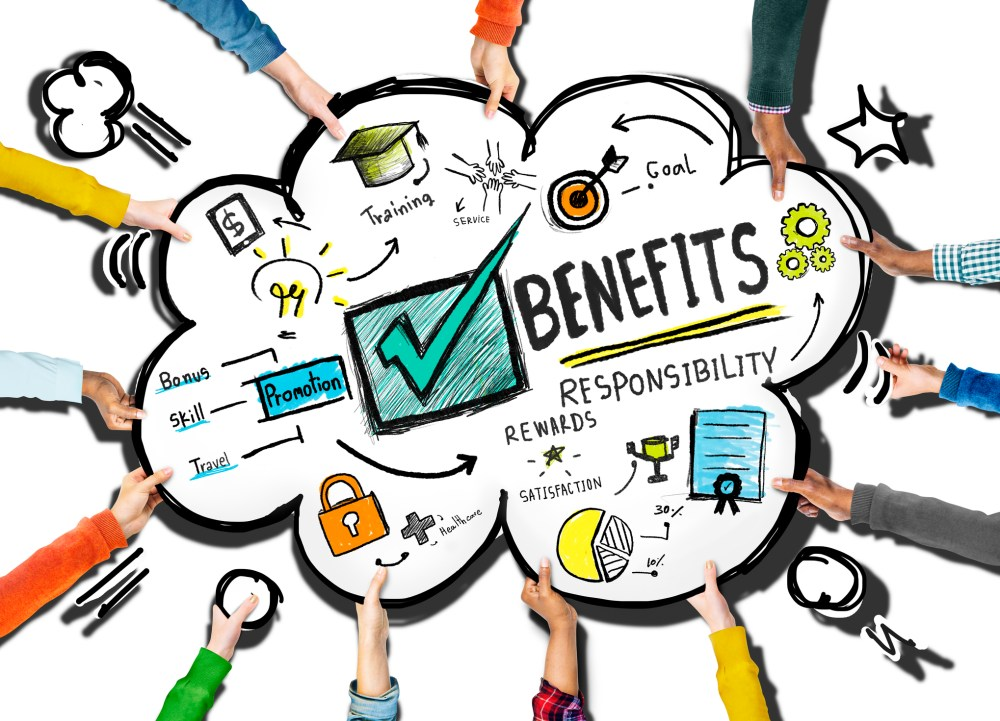 medium resolution of diagram showing employee benefits