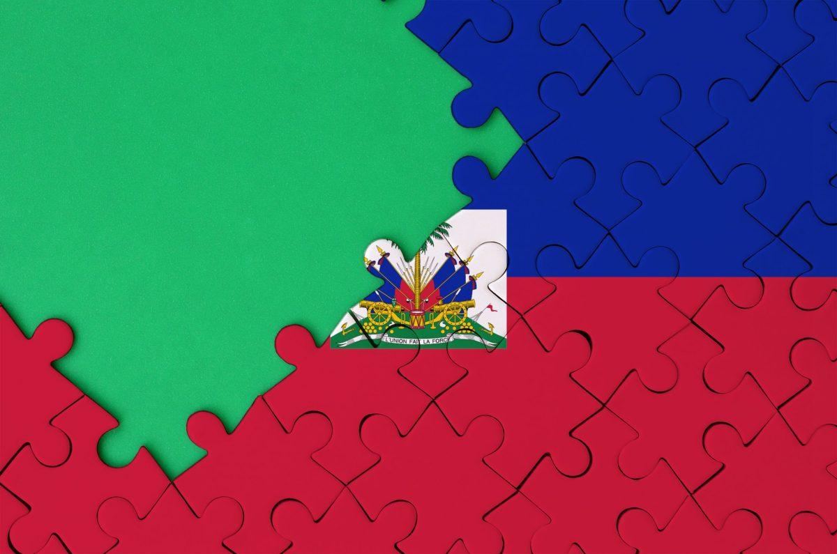 Haitian Flag puzzle