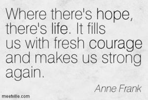 I Keep My Ideals: How I Wish I could Think like Anne Frank