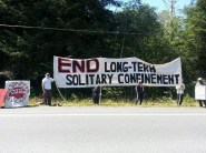 Protest at Pelican Bay