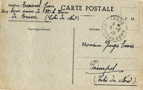 avis capture prisonnier de guerre 1940