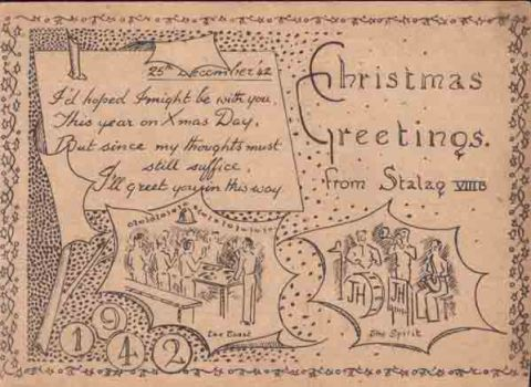 carte illustré stalag VIII B