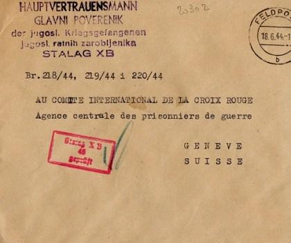 homme de confiance yougoslave du stalag X B