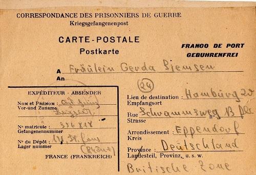 prisonnier de guerre allemand en France après 1945 St-Flour 141