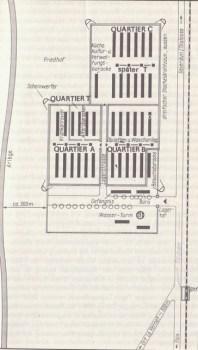 plan du camp du Vernet