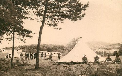chantiers de Jeunesse n° 44 Vue du Camp