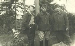 Photo de prisonniers de guerre soldat Huet Stalag VII