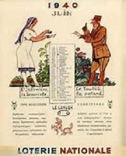 calendrier 1940