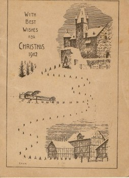 carte illustrée oflag-IX-A