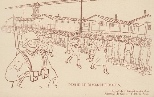 prisonniers de guerre la revue du stalag le dimanche