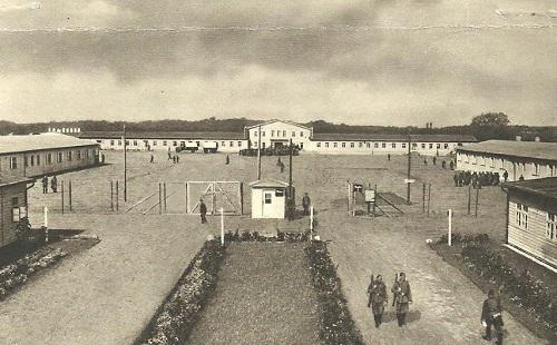 prisonniers de guerre vue du Stalag XI B
